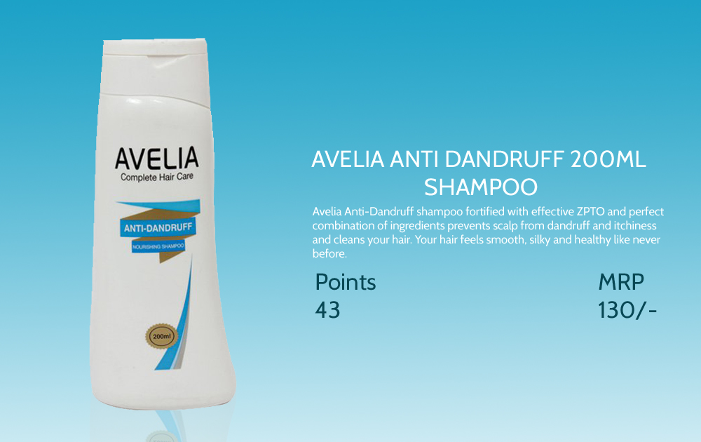 Avelia Anti Dandruff Shampoo 200ml