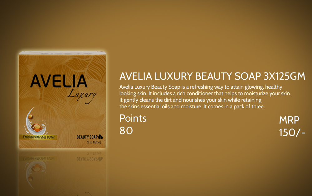 Avelia Luxury Beauty Soap 3 125gm