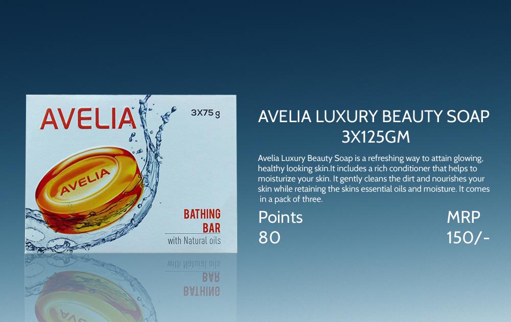 Avelia Luxury Beauty Soap 3 125gms