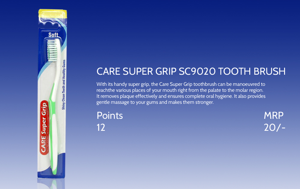 Care Super Grip Sc9020 Tooth Brush