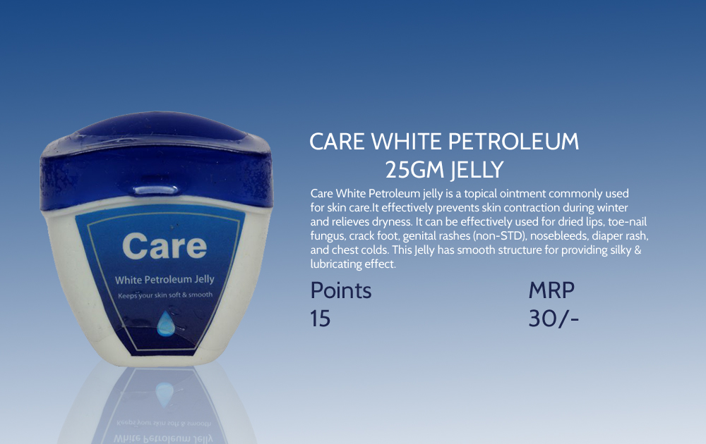Care White Petroleum Jelly 25gms