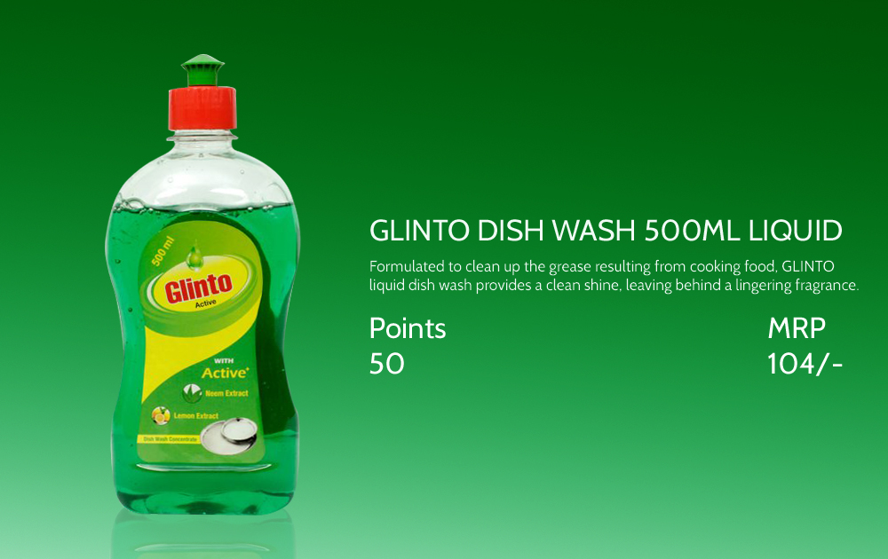 Glinto Dish Wash Liquid 500ml