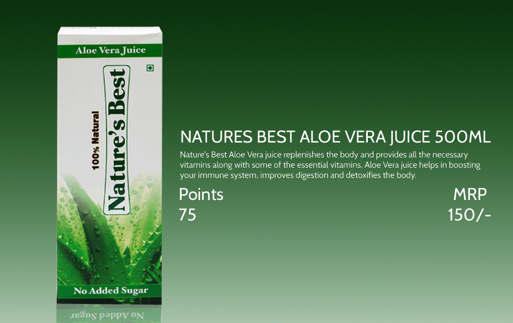 Natures Best Aloevera Juice 500ml