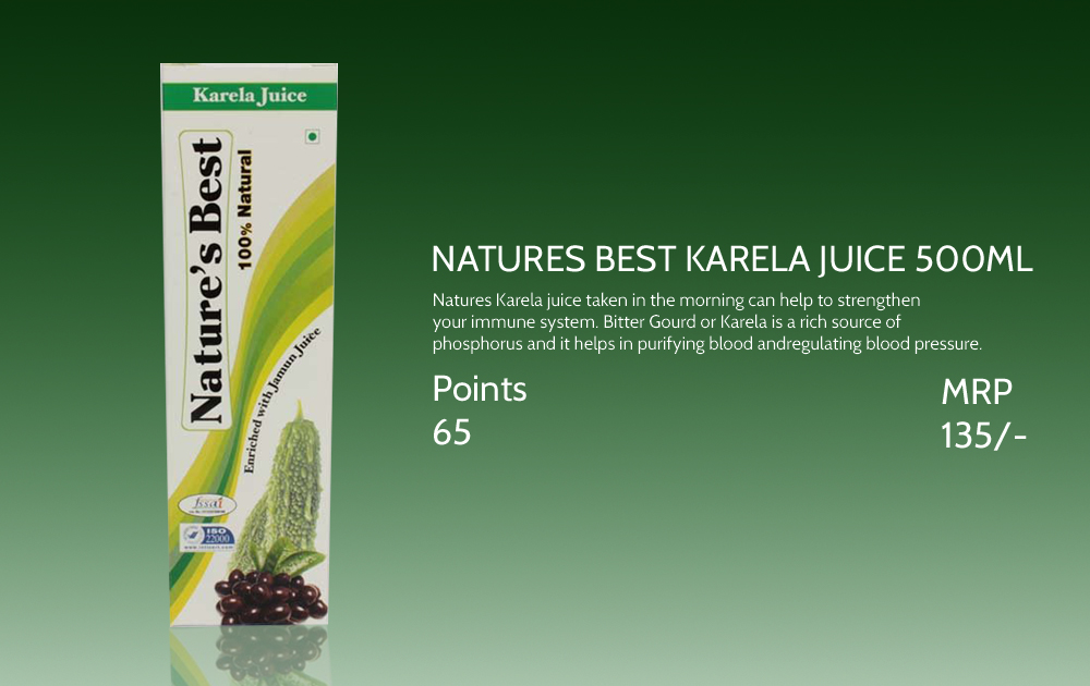 Natures Best Karela Juice 500ml
