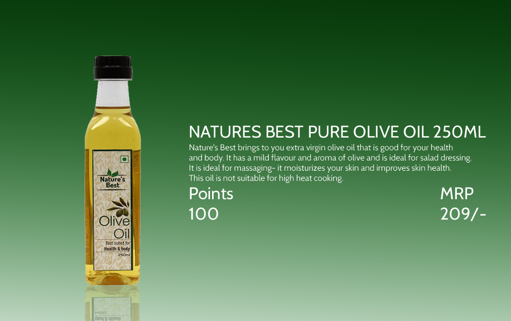 Natures Best Pure Olive Oil 250ml