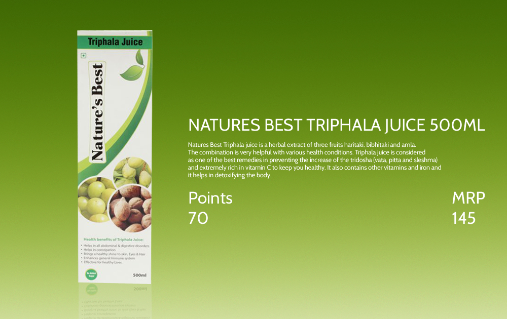 Natures Best Triphala Juice 500ml