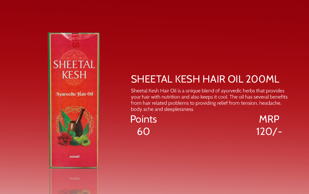 Sheetal Kesh Hair Oil 200ml