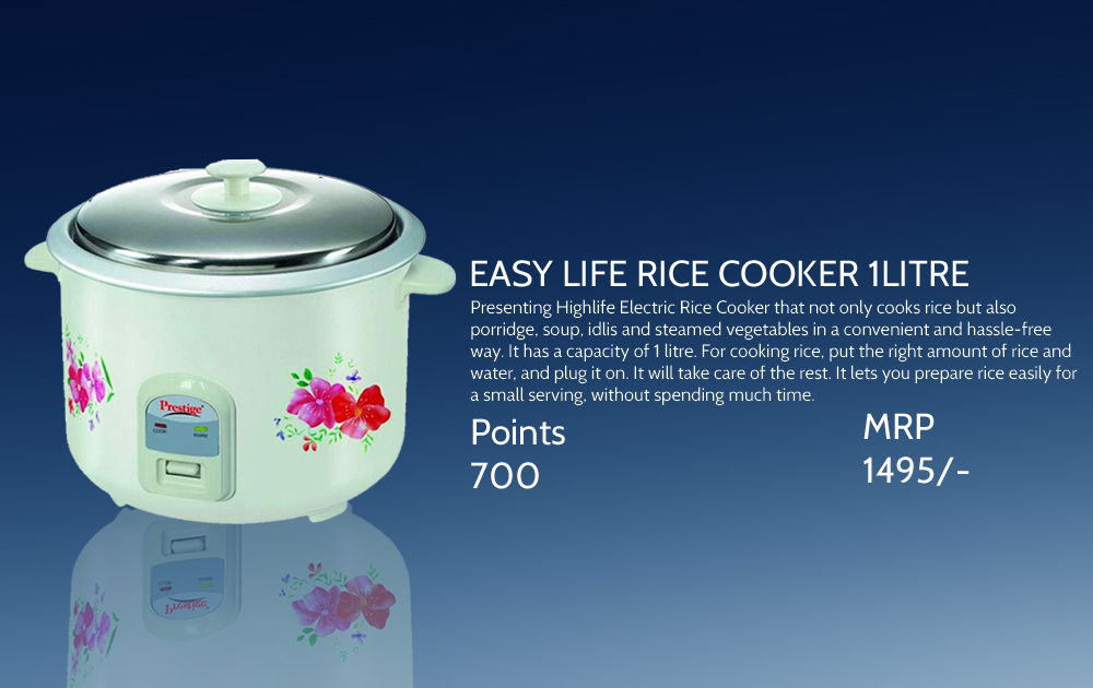 Easy Life Rice Cooker 1ltr