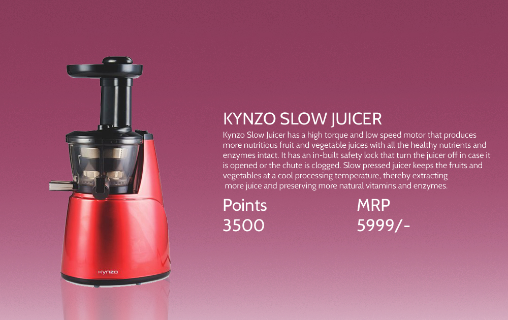 Kynzo Slow Juicer